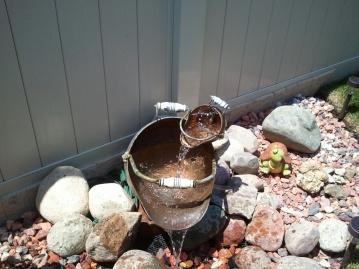 Copper Pot Fountain