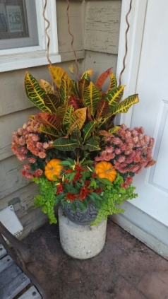 Autumn Annual Container