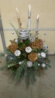 Winter Greens Container